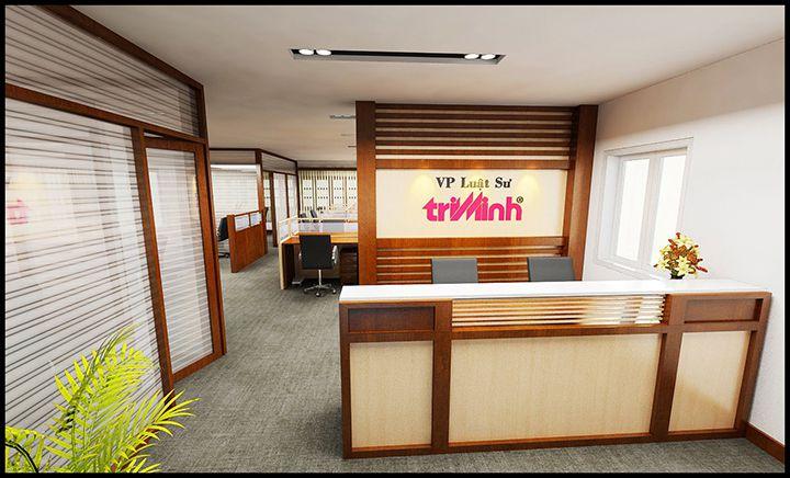 thiết kế nội thất văn phòng luật sư đẹp