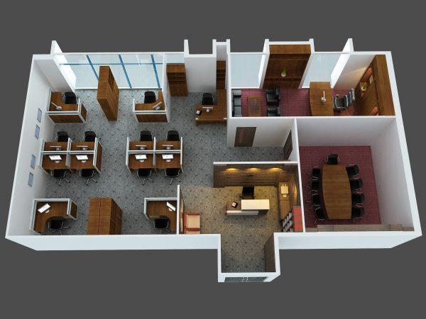 Thiết kế thi công nội thất văn phòng giá rẻ ở đâu Hà Nội
