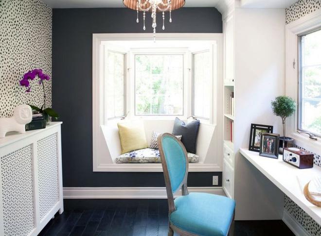 Thiết kế ghế ngồi bên cửa sổ văn phòng thật đơn giản, tiện tích-3