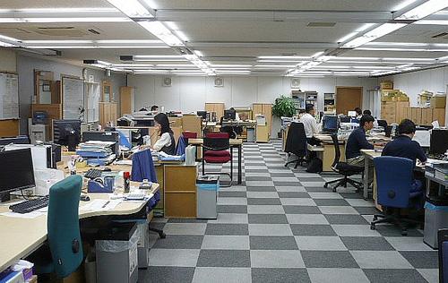 Thiết kế văn phòng mới