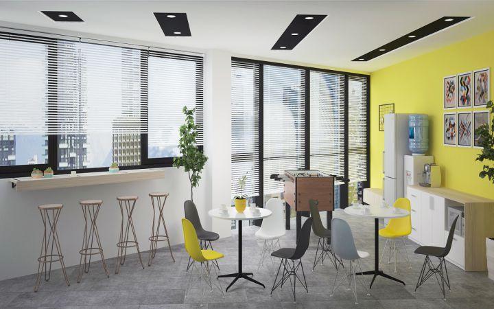 Thiết kế nội thất văn phòng công ty BSS